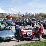 Car Rally Parking Lot