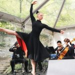 Dancer at Cherry Jam Concert