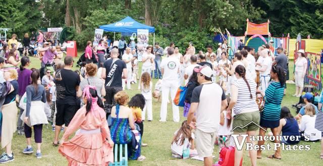 Families at Children's Festival