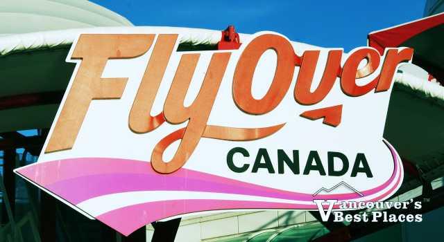 FlyOver Canada Sign