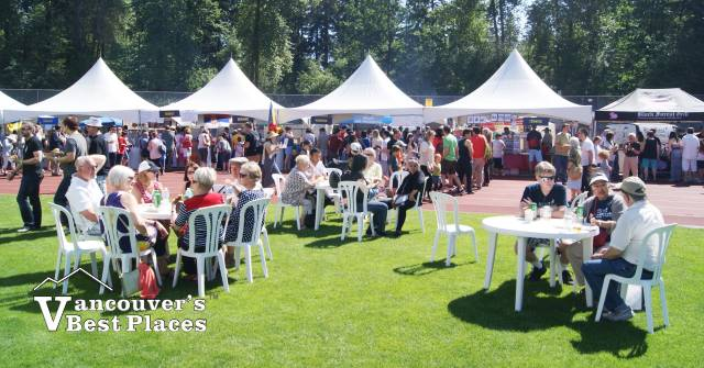 Lunch Time at the European Festival