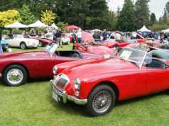 British Car Show at VanDusen Garden