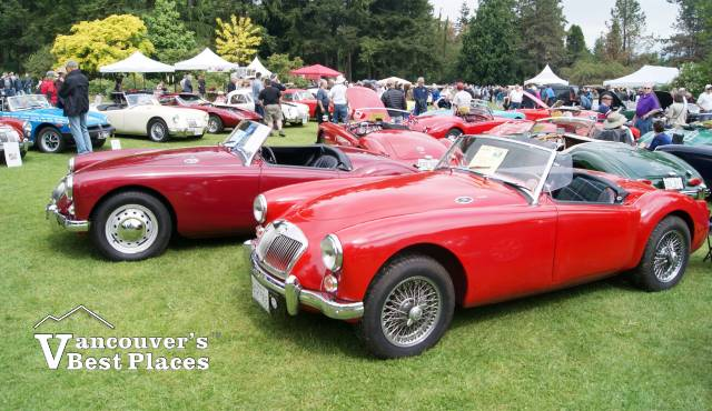 VanDusen British Classic Cars Vancouvers Best Places - Classic show cars