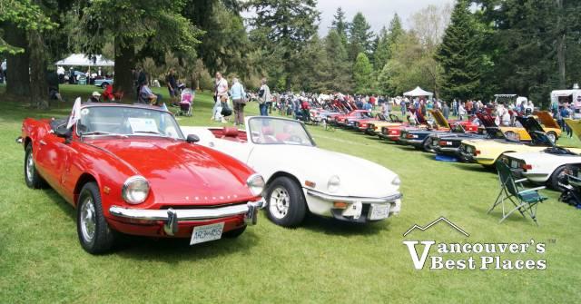 VanDusen Classic Car Meet Vancouvers Best Places - Classic car meets near me