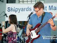 Band at the Shipyards