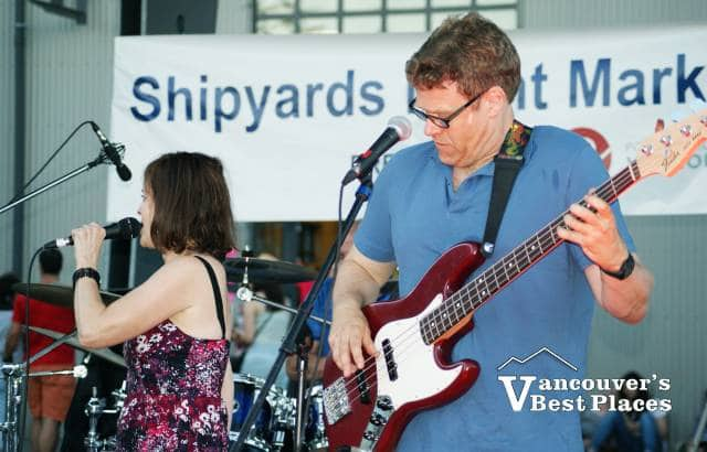 Band at Shipyards Night Market