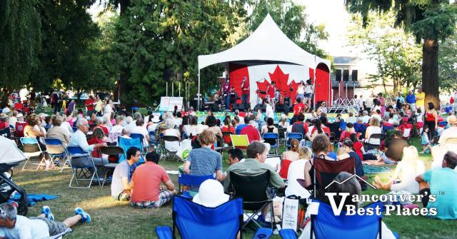 Canada Day Audience