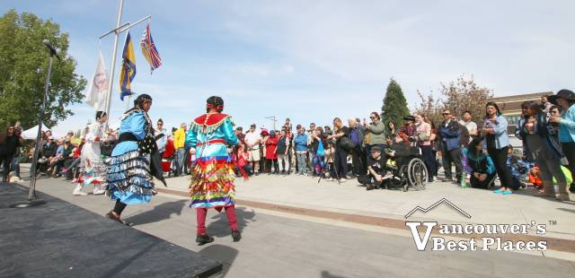 Indigenous Dancing at the Gulf of Georgia Cannery