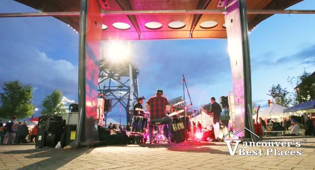 Band at Shipyard Night Market
