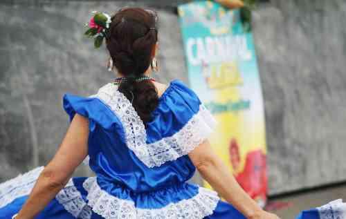 Dancer at Carnaval del Sol