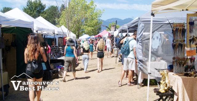Folk Music Festival Artisan Market
