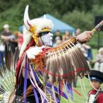 Powwow Dancer in Full Costume