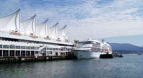 Canada Place Cruise Ship