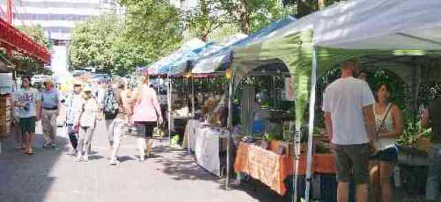 Farmers Market at Lonsdale Quay
