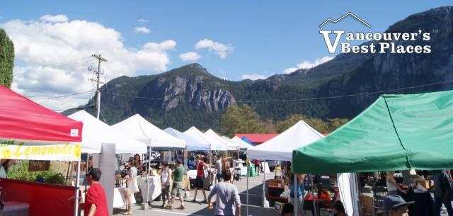 Market Day in Squamish