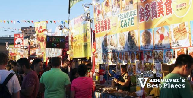 Night Market Food Stalls