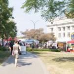 Thornton Park on Farmers Market Day