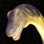 Dinosaur at Night