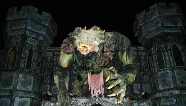 Monster at PNE Fright Nights