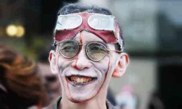 Smiling Pilot Zombie