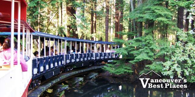 Stanley Park Train in October