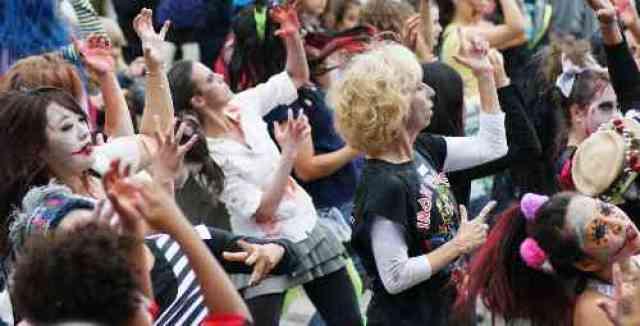 Zombie Thriller Dancers