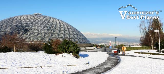 Bloedel Conservatory in Snow