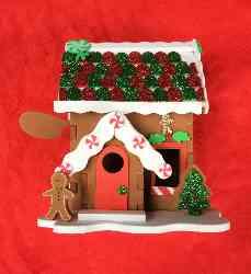 Christmas Craft House