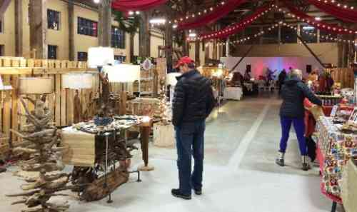 Displays at Shipyard Christmas Market