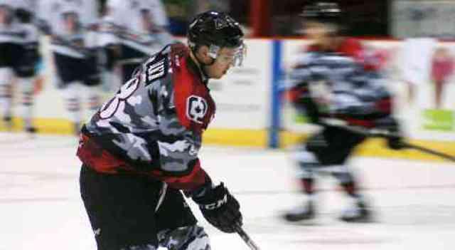 Vancouver Giants Hockey Player