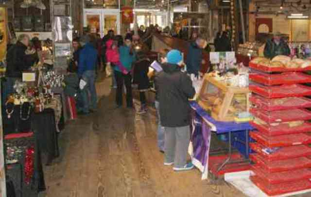 Winter Market at the Gulf Cannery