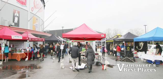 Saturday Farmers Market at Nat Bailey Stadium