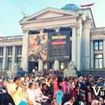 Bhangra Crowds at Art Gallery