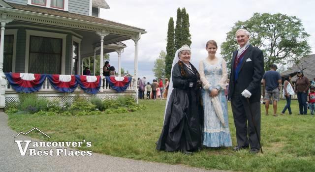 Royal Victorian Party at Stewart Farm