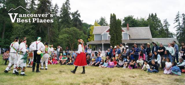 Stewart Farm on Victoria Day Weekend