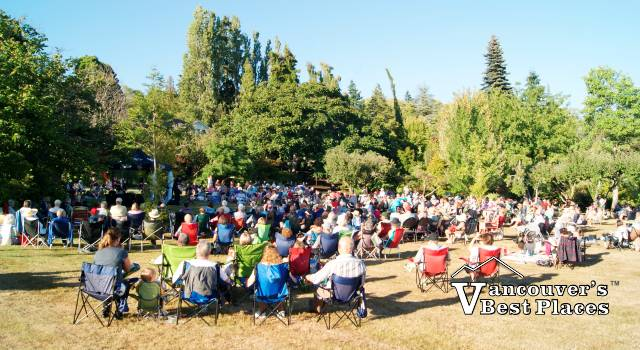 Summer Concert at Darts Hill