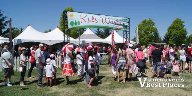 Canada Day Kids World Area