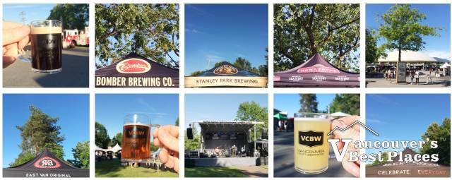 Craft Beer Festival Photo Collage