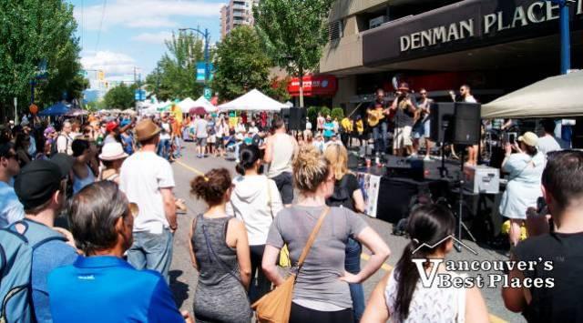Denman Car Free Day Music Entertainment