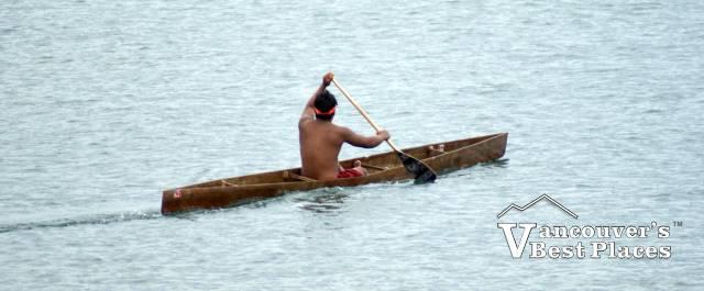 Harrison Sasquatch Festival War Canoe