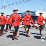 Marching RCMP in Parade