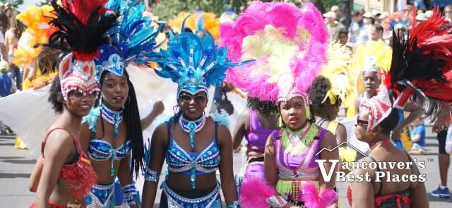 Caribbean Parade Participants