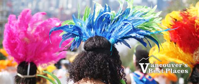 Feathered Caribbean Parade Participants