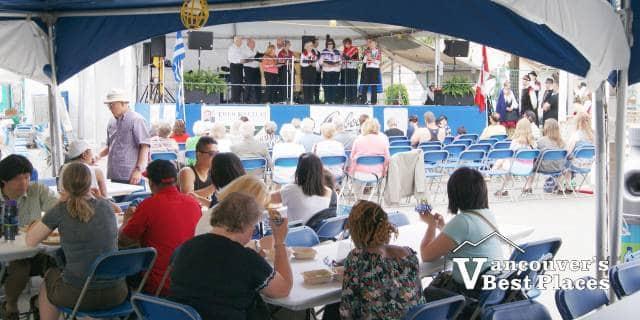Greek Fest Food Tent