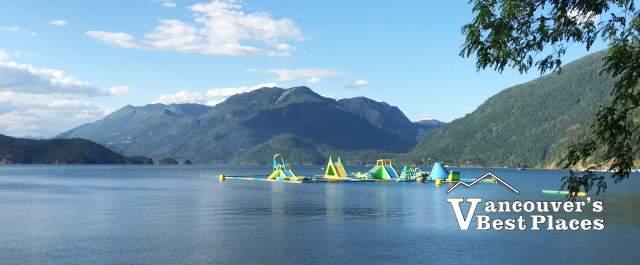 Harrison Lake Water Playground