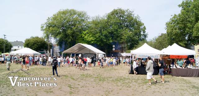 Powell Street Festival Venue