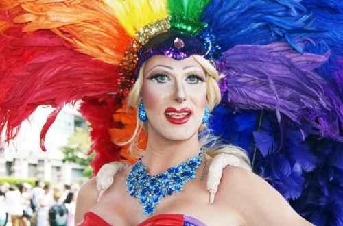 Pride Parade LOVE Balloons