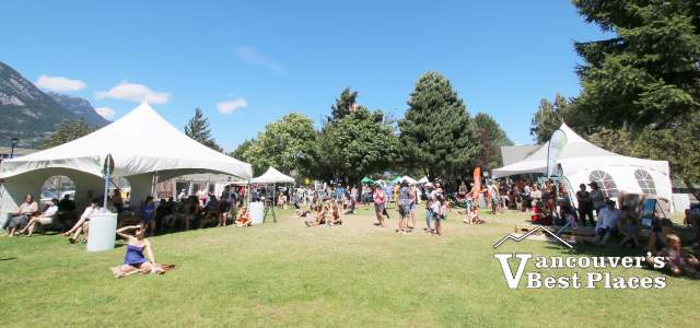 Squamish Wind Festival at Junction Park