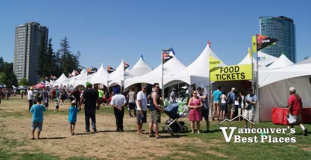 Surrey Fusion Festival Vendor Stalls