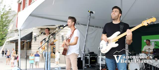 Andrew Allen Band on the Main Stage